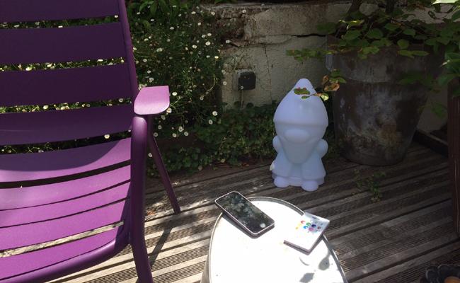 enceinte nain de jardin bluetooth pour l'extérieur